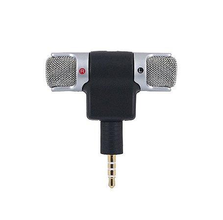 Microfone Estereo Celular Soundvoice Soundcasting 100 Lite