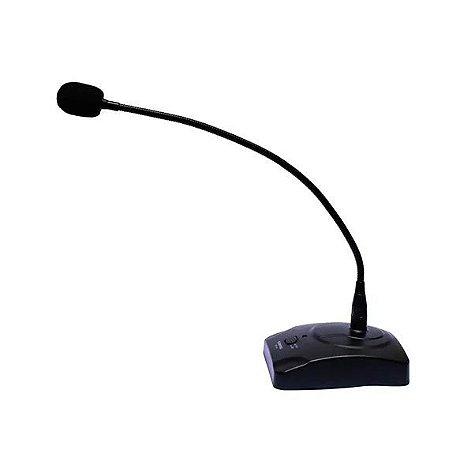 Microfone Soundvoice Plenário Mm110 De Mesa Gooseneck