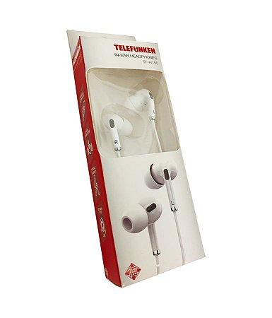 Fone de Ouvido Telefunken In-Ear TF-H150