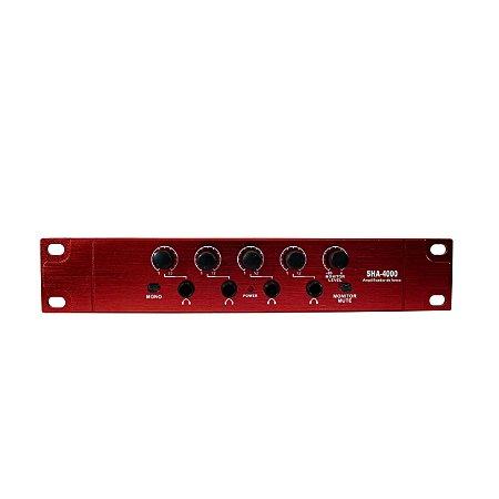 Amplificador de Fone GB Soundvoice SHA4000