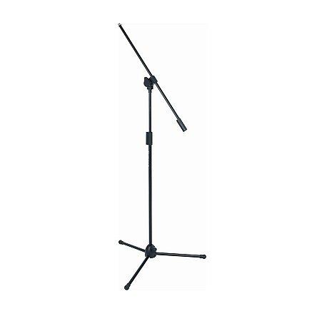 Pedestal P/ Microfone Quik Lock Girafa Microlite A302bk