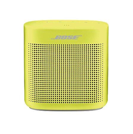 Caixa de som Bose SoundLink Color II com bluetooth Amarelo
