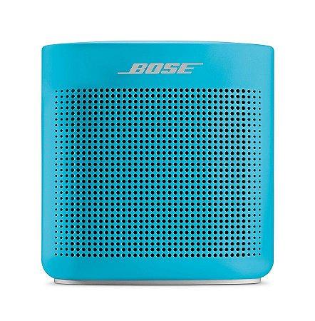 Caixa de som Bose SoundLink Color II com bluetooth Azul
