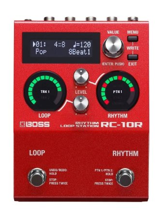 Pedal De Loop Boss Para Guitarra Rc 10 R Loop Station