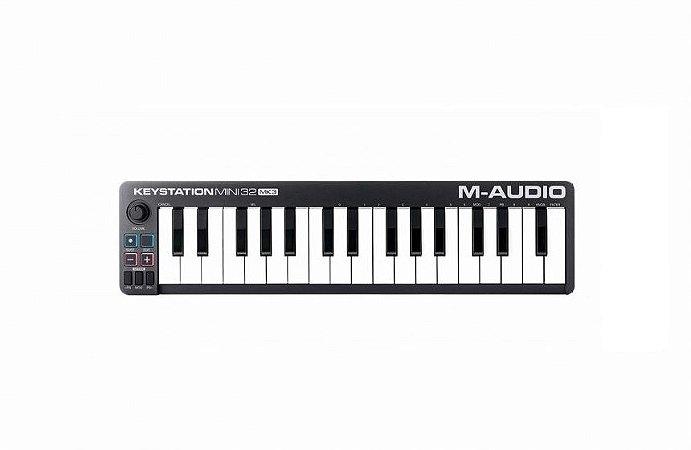 Keystation Mini M-Audio 32 Mk3 Teclado Controlador 32 Teclas