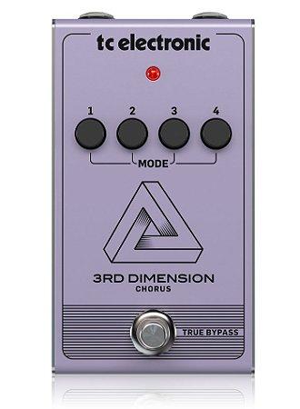 Pedal De Guitarra Tc Electronic 3rd Dimension Chorus