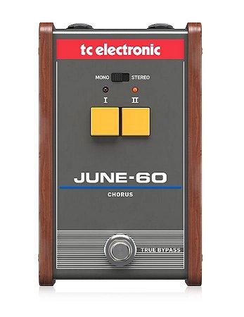 Pedal De Guitarra Tc Electronic June-60 Chorus Vintage