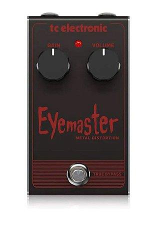 Pedal De Guitarra Tc Electronic Eyemaster Metal Distortion