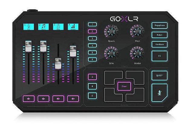 Processador Tc Helicon Vocal Multi-efeitos Go Xlr
