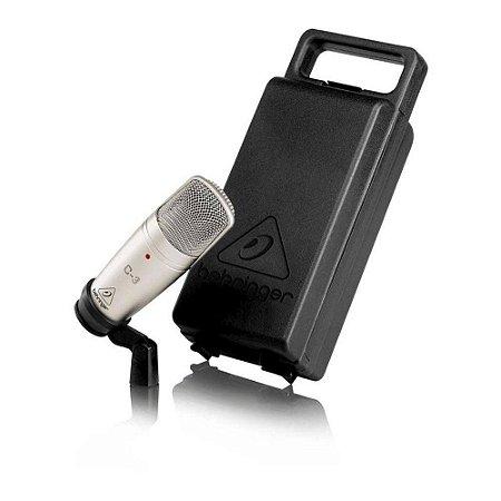 Microfone Behringer C-3 Condensador Para Estudio