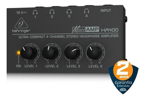 POWERPLAY BEHRINGER AMP. DE FONE HA400