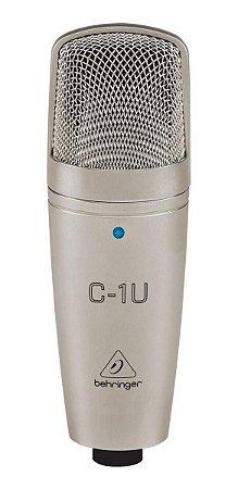 Microfone Behringer C-1u Condensador P/ Estudio
