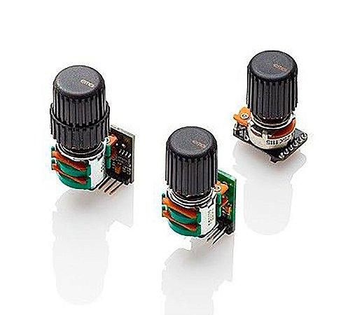 Circuito EMG p/ Baixo 3 Pots para Captadores Ativos
