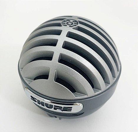 Microfone Shure Condensador Digital Vocal MV5ALTG MOSTRUÁRIO