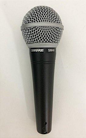 Microfone Shure Dinâmico Vocal Cardióide SM48-LC MOSTRUÁRIO