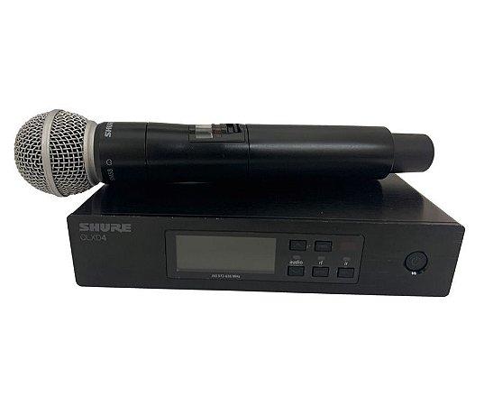 Sistema Shure S/Fio para Instrumentos QLXD4BR-J50 MOSTRUÁRIO