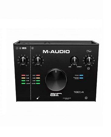 Interface de Áudio M-Audio USB AIR 1924 24BITS 192KHZ