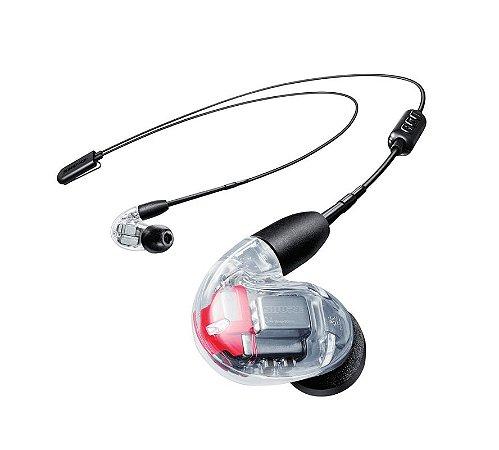 Fone De Ouvido Shure In-Ear Transparente SE846-CL