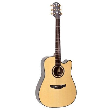 Violão Crafter Folk Tampo  Jacaranda KDLXE-3000