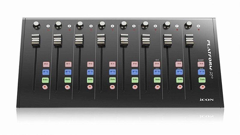 Superfície Controladora Icon 8 Canais Motorizados Platform X
