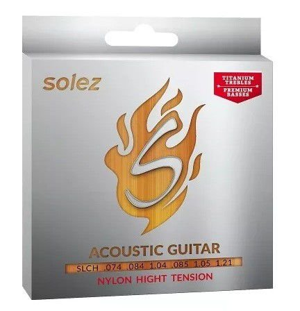 Encordoamento Solez Violao Nylon High Tension Slc H