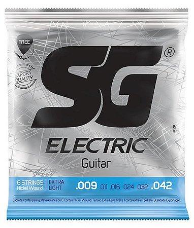Encordoamento Sg Guitarra 009 Niquel 5145