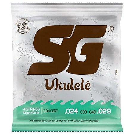 Encordoamento Sg Ukulele Nylon Concerto