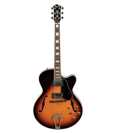 Guitarra Tagima Semiacustica Jazz 1900 Sunburst