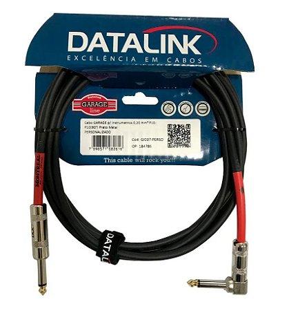 Cabo Datalink Garage P10/P10 90 Preto GI037 3 metros