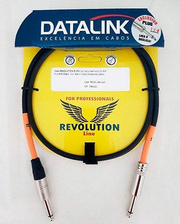 Cabo Datalink Revolution Silent P10 Preto RI031 1 metro