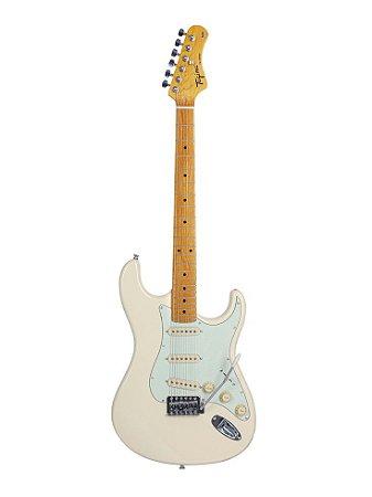 Guitarra Tagima TG-530 Woodstock WV Branco Vintage