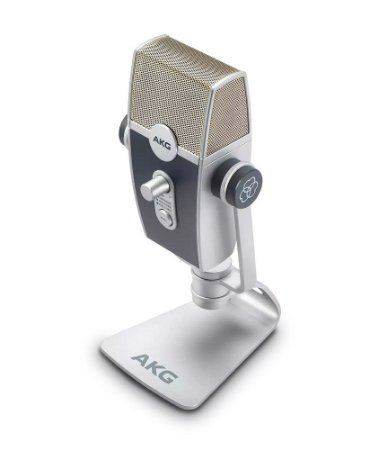 Microfone AKG Lyra C44 USB Multimodo Ultra-HD