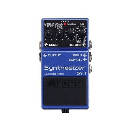 Pedal Boss para Guitarra Synthesizer SY-1