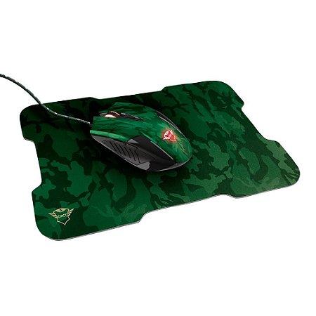 Kit Mouse 3.200Dpi E Mousepad Gamer Trust Gxt-781 Rixa