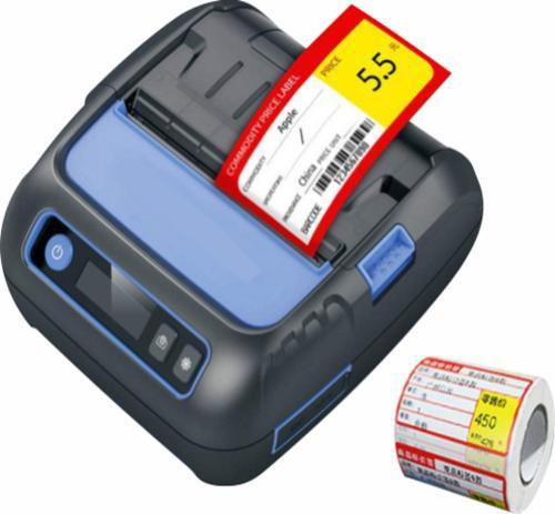 Impressora Térmica Portátil De Etiquetas Mgitech Dts - 3500