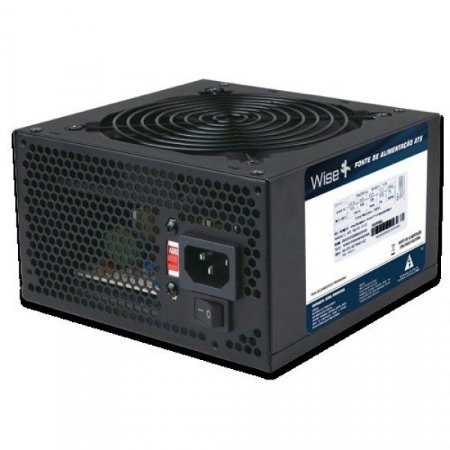 Fonte ATX WiseCase 600W Real