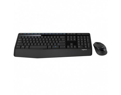 Kit Teclado e Mouse sem fio Comfort Logitech MK345