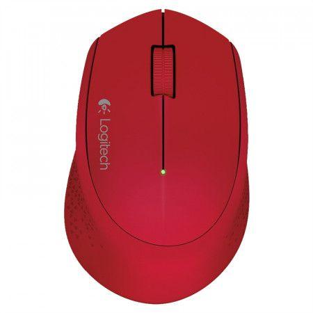 Mouse Optico sem Fio M280 Vermelho Logitech