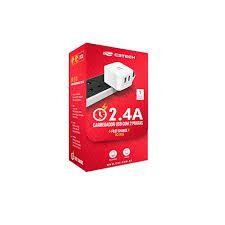 Carregador USB Com 2 Portas 2.4A C3TECH UC-210