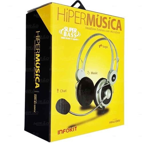 Headphone - Infokit - HM-640MV