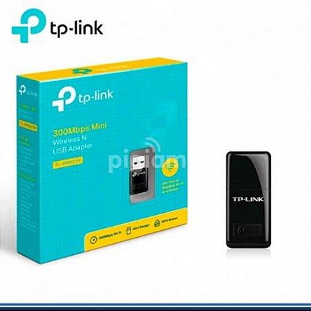 Mini Adaptador USB Wireless N 300Mbps