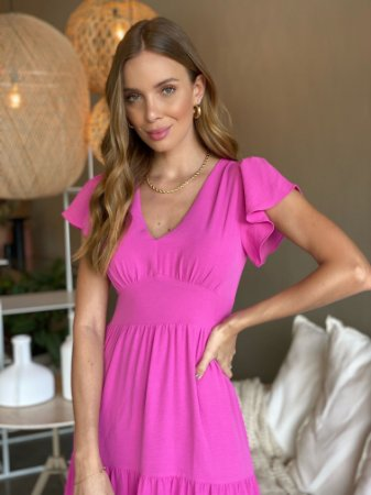 Vestido Luana Rosa