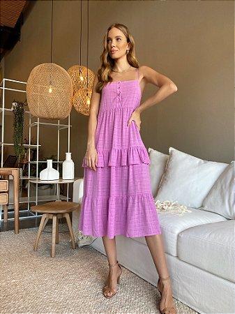 Vestido Helena Lavanda
