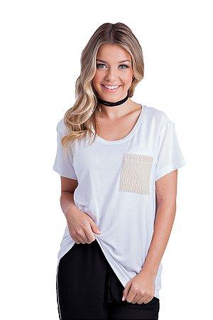 T-Shirt Dora (bolso pelinho)