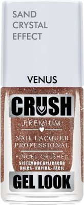 ESMALTE CRUSH - VENUS 9ml - SAND CRYSTAL EFFECT