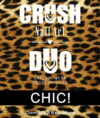 DUO CRUSH NAIL ART CHIC - 2 ESMALTES 9ml