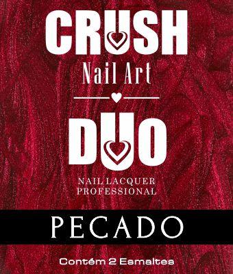 DUO CRUSH NAIL ART PECADO - 2 ESMALTES 9ml