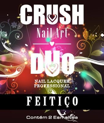 DUO CRUSH NAIL ART FEITIÇO - 2 ESMALTES 9ml