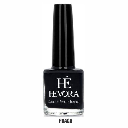 ESMALTE HEVORA - PRAGA 8ml (PRETO CREMOSO)
