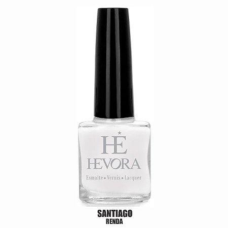 ESMALTE HEVORA - SANTIAGO 8ml (BRANCO RENDA)